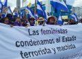 Movimiento Autónomo de Mujeres se suma al rechazo contra cadena perpetua porque «no protege la vida de las mujeres». Foto: Internet.