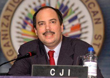 Régimen envía lánguidas condolencias por fallecimiento del jurista Mauricio Herdocia. Foto: OEA.