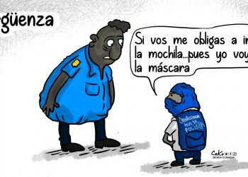 La Caricatura: «Orgullosamente hijo de Polisilla». Cako Nicaragua