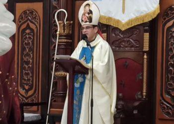 Monseñor Rolando Álvarez pide que prevalezca el amor a la patria junto a la verdad, justicia, libertad y fraternidad. Foto: Internet.
