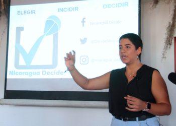 Nicaragua Decide presenta resultados de consulta ciudadana «presión internacional». Foto/Cortesía