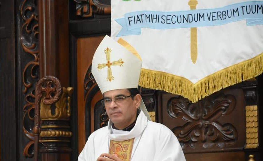 Monseñor Rolando Álvarez advierte que un «falso católico» utiliza la política para sus propios intereses. Foto: Artículo 66 / Diócesis Media