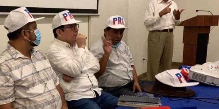 «¡La Coalición tiene casillas!», reclama el grupo opositor. Foto: RRSS.