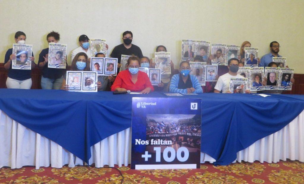 Coalición Nacional se solidariza con presos políticos en protesta y se compromete a seguir «luchando por su libertad». Foto: Artículo 66.