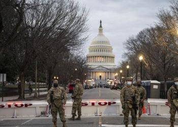 Toma de posesión de Biden ha sido alterada por pandemia y peligros de alteración por parte de extremistas «trumpistas». Foto: Internet.