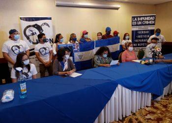 Unión de Presas y Presos Políticos insisten en buscar la unidad opositora «de una vez por todas». Foto: Vos TV.