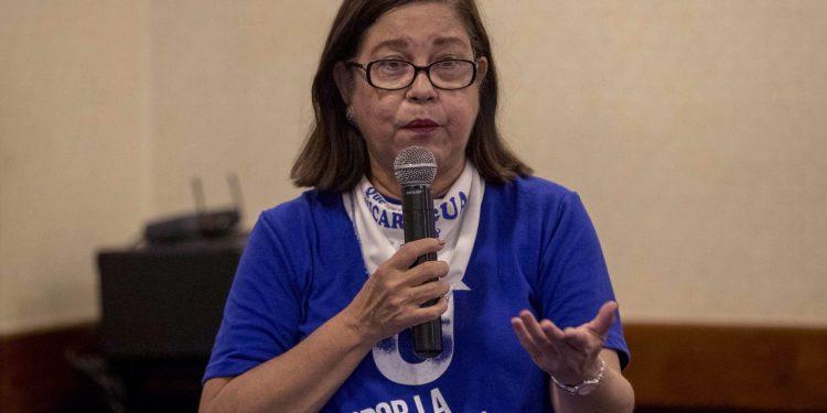 Organizaciones exigen a la Policía informar públicamente el paradero de la opositora Violeta Granera