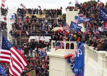 Joe Biden: «Nuestra democracia está bajo un ataque sin precedentes». Foto: Reuters.