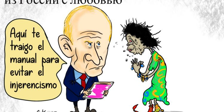 La Caricatura: El manual ruso