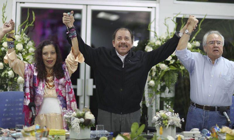Rosario Murillo celebra prisión perpetua y advierte que «amor con amor se paga». Foto: CCC.