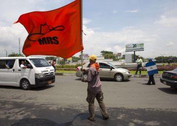 MRS toma distancia del sandinismo y elimina a Sandino de sus símbolos. Foto: Artículo 66/EFE.
