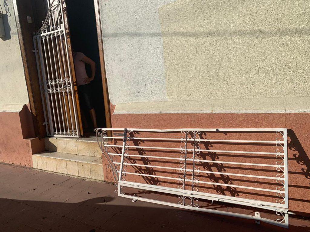 Policía de León invade la vivienda del periodista Aníbal Toruño. Foto: Aníbal Toruño/RRSS.