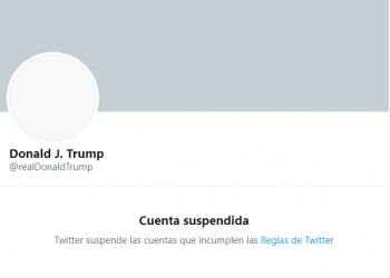 Twitter cancela de manera permanente la cuenta de Donald Trump