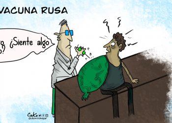 La Caricatura: La vacuna rusa