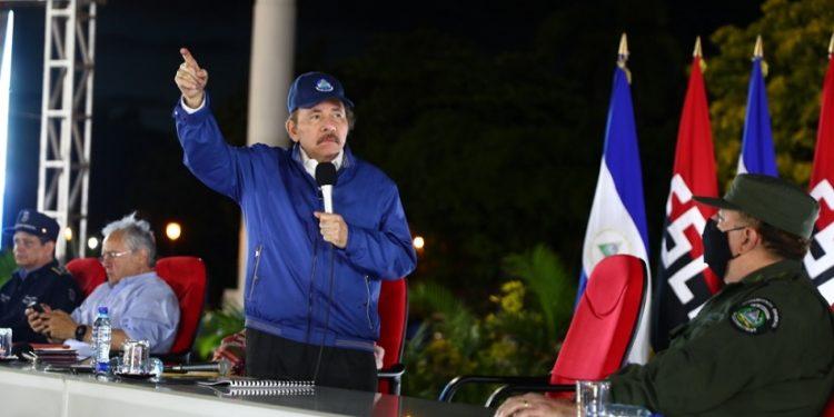 Daniel Ortega insta a un «acuerdo» global para acceder a vacunas contra el COVID. Foto: Gobierno.