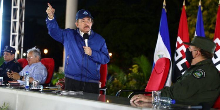 Daniel Ortega vuelve al ataque contra Estados Unidos después de 40 días de ausencia. Foto_ CCC
