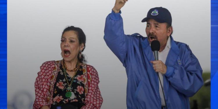 Diputados sandinistas aprueban la «Ley extraterrestre» de Ortega y Murillo. Foto: Internet.