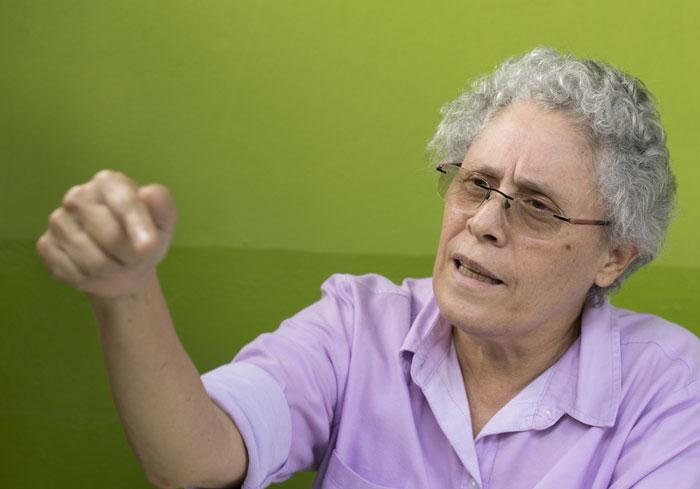 Dora María Téllez afirma que la Alianza Ciudadana apuesta por ser la «segunda fuerza». Foto: Artículo 66 / tomada de internet