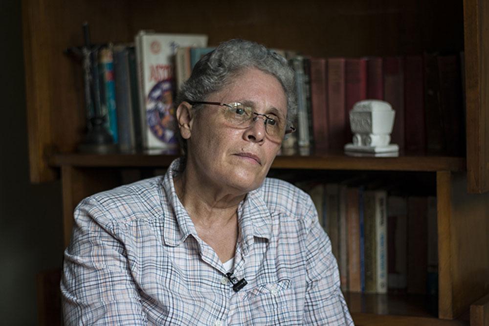 El dictador Ortega juega a la división y el desánimo de la oposición, asegura Dora María Téllez. Foto: Internet.