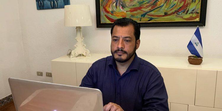 UNAB ratifica a Félix Madariaga como su candidato a disputarle el poder a Ortega. Foto: Artículo 66 / Cortesía