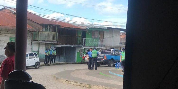 Dirigente opositora de Río San Juan sometida a más de dos años de asedio permanente. Foto: Cortesía.