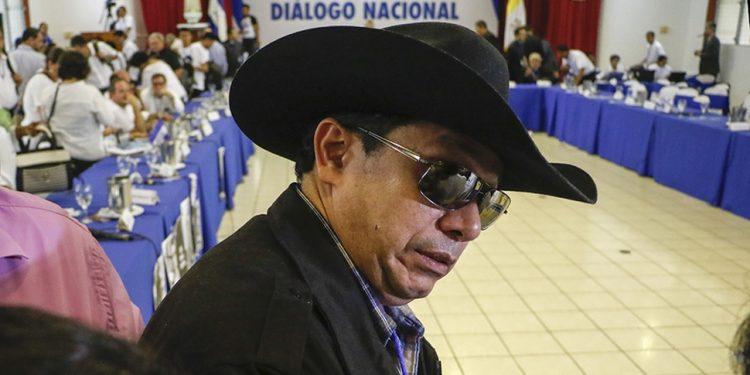 Luis Jiménez, el enviado del régimen que llegó armado al Diálogo Nacional. Foto: END