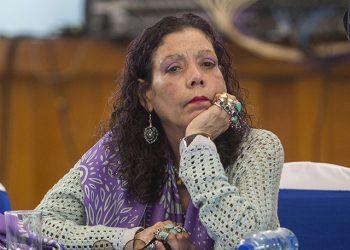 Rosario Murillo contradice a Conferencia Episcopal anunciando viacrucis protegidos por la policía. Foto: medios oficialistas.