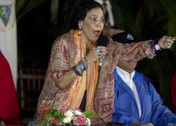 Rosario Murillo sigue su afán por despotricar contra la familia de Cristiana Chamorro. Foto: Internet.
