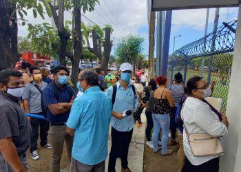 Periodistas independientes interponen recurso por inconstitucionalidad de la «Ley Mordaza». Foto: Artículo 66 / Noel Miranda