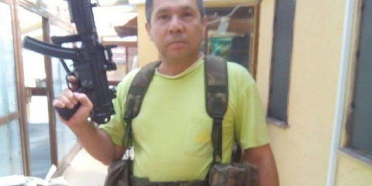 Quién es el matón orteguista que fue citado por la justicia española para responder por las amenazas a opositores nicaragüenses. Foto: redes sociales.