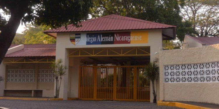Colegio Alemán Nicaragüense suspende temporalmente las clases por caso de COVID-19. Foto: LP.