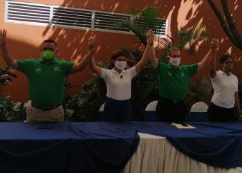 Consejo Supremo Electoral concede certificación a UNIR de Alfredo Cesar. Foto: PC