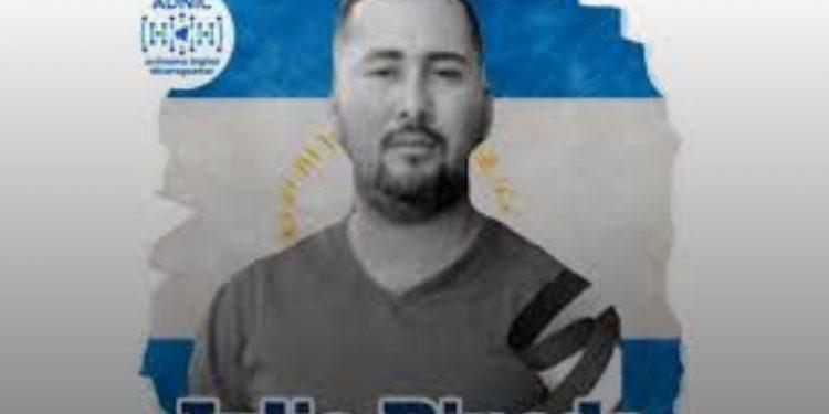 Jueza orteguista impone 19 años de cárcel a preso político Julio Pineda, por tráfico de drogas y crimen organizado. Foto: Internet.