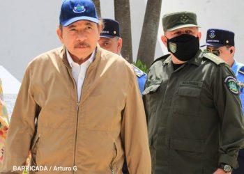 Daniel Ortega aparece después de 40 días y no dice una sola palabra. Foto: Barricada