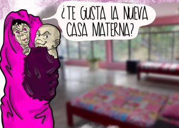 La Caricatura: Casa materna