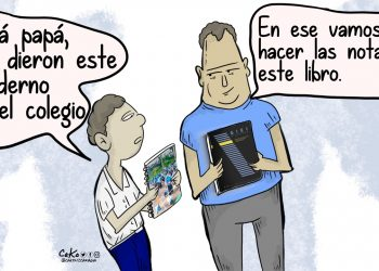 La Caricatura: Los cuadernos no borran las violaciones de DD. HH.