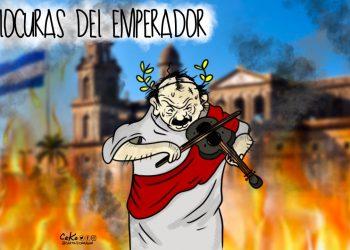La Caricatura: Las locuras del emperador