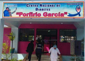 Régimen se apodera de edificio de Ipade con fachada de «Centro de Diabetes». Foto: Gobierno.