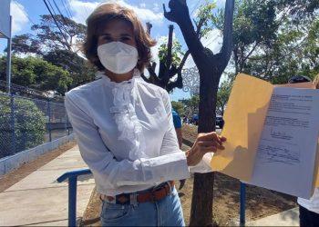 Cristiana Chamorro y Fundación CBCh recurren por inconstitucionalidad contra Ley de Ciberdelitos. Foto: Noel Miranda/ Artículo 66.