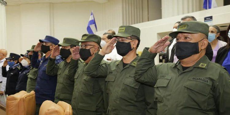 Aprueban Ley para mostrar la cara «bonita» del Ejército de Sandino en los colegios. Foto: Asamblea Nacional.