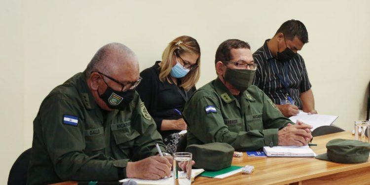 Ejército de Nicaragua da su consentimiento para declarar símbolos sandinistas «Patrimonio de la Nación». Foto: AN.