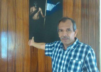 Régimen amenaza con encarcelar nuevamente a Hugo Brenes, «excachorro» que se negó a ser paramilitar.Foto: Cortesía.