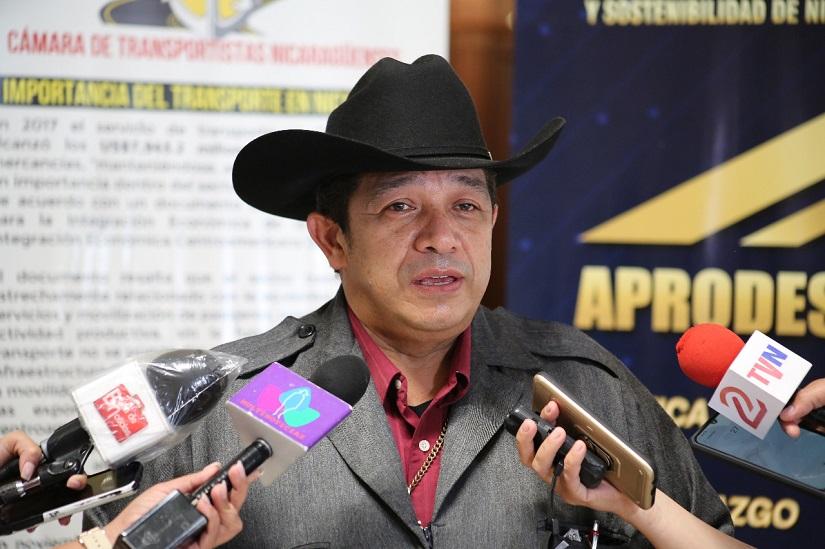 Crean Cámara de Transportistas afines al régimen de Daniel Ortega. Foto: Gobierno.