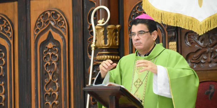 Monseñor Rolando Álvarez: Falsos mesías y triunfalismos «andan a la carrera. Foto: Diócesis de Matagalpa.