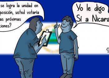 La Caricatura: En unidad le decimos SÍ a Nicaragua