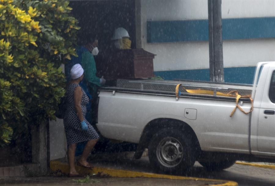 Nicaragua con cifras «asombrosas»: Menos 7 mil casos y 200 decesos por COVID-19 en un año. Foto: Artículo 66/ EFE.