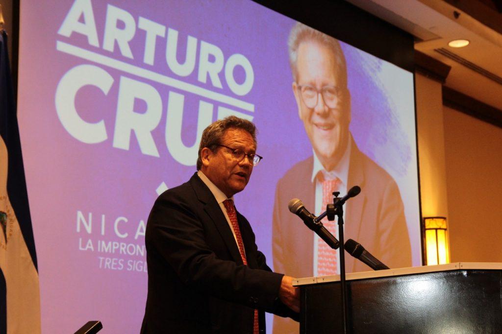 CxL postulará como su candidato a Arturo Cruz para buscar establecer un «Orteguismo sin Ortega», afirma sociólogo Oscar René Vargas. Foto: Artículo 66/M. Esquivel.