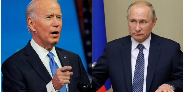 El señalamiento de «asesino» del mandatario norteamericano Joe Biden contra su par ruso Bladimir Putin tensan al máximo relaciones diplomáticas entre las dos potencias. Foto: Internet.