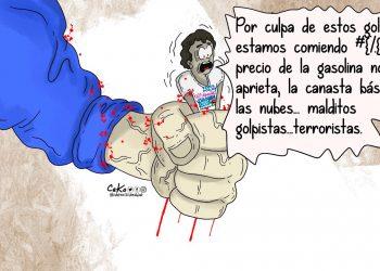 La Caricatura: Presión a la militancia´.