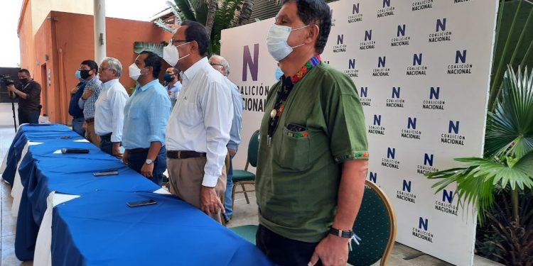 Coalición Nacional continúa organizándose por «aparte». Foto: Artículo 66.